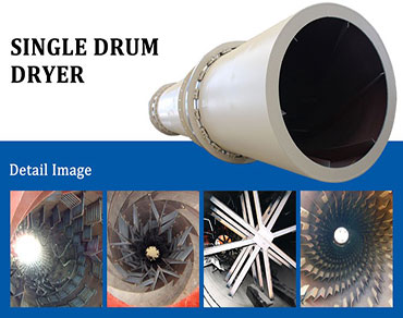 Single cylinder rotary dryer-a multifunctional dr