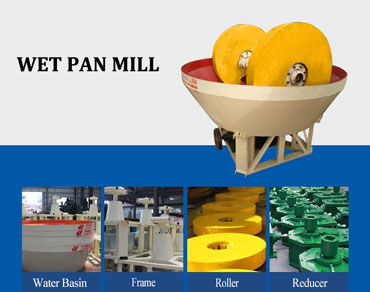 Wet pan mill— the first choice for medium and s